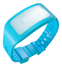 The Bug Watch antimug armband Kids blauw-Vooraanzicht