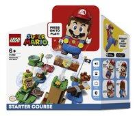 LEGO Super Mario 71360 Pack de démarrage Les Aventures de Mario-Avant