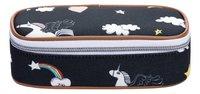 Jeune Premier pennenzak Rainbow Unicorn-Vooraanzicht