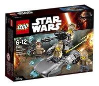 LEGO Star Wars 75131 Resistance trooper Battle pack-Vooraanzicht