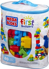 Mega Bloks First Builders Big Building Bag-Côté gauche