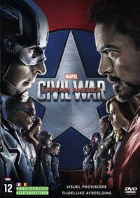 DVD Captain America: Civil War