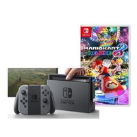 Nintendo Switch console gris + Mario Kart 8 Deluxe ANG