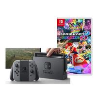 Nintendo Switch console grijs + Mario Kart 8 Deluxe ENG