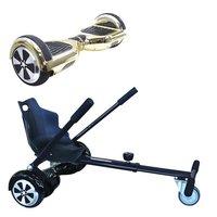 Symex Balance Board Balance Scooter goud + Seatkart zwart