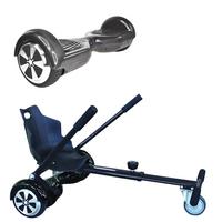 Symex Balance Board Balance Scooter carbon + Seatkart zwart