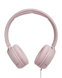 JBL hoofdtelefoon Tune 500 roze-Vooraanzicht