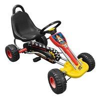 Gocart Mickey Mouse Roadster-commercieel beeld