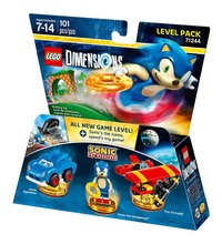 LEGO Dimensions Sonic The Hedgehog 71244 level pack FR/ANG-Avant