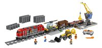 LEGO City 60098 Le train de marchandises rouge-Avant