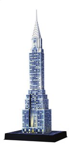 Ravensburger 3D-puzzel Chrysler Building Night Edition-Rechterzijde