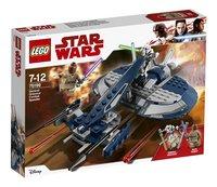 LEGO Star Wars 75199 Gevechtsspeeder van General Grievous-Linkerzijde