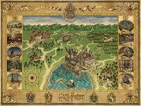 Ravensburger puzzel Harry Potter De kaart van Zweinstein-Vooraanzicht