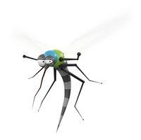 The Bug Watch antimug armband Midnight Black-Afbeelding 3