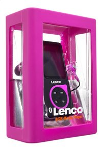 Lenco bluetooth mp4-speler Xemio-768 8 GB roze-Linkerzijde