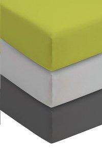 Romanette Drap-housse lime jersey double 90 x 200 cm-Image 1