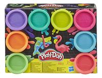 Play-Doh 8 pots arc-en-ciel flashy-Avant