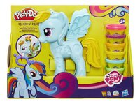 Play-Doh My Little Pony Rainbow Dash Style Salon-Vooraanzicht