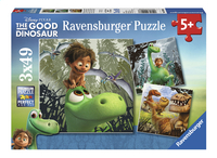 Ravensburger puzzel 3-in-1 The Good Dinosaur-Vooraanzicht