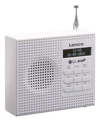 Lenco radio DAB+ PDR-020 blanc