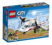 LEGO City 60116 Ambulancevliegtuig