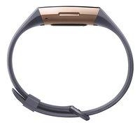 Fitbit capteur d'activité Charge 3 HR or rose/bleu ardoise-Détail de l'article