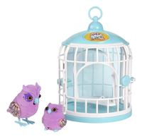 Little Live Pets Tweet Talking Owl and Baby with Cage-Vooraanzicht