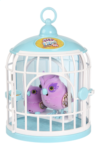 Little Live Pets Tweet Talking Owl and Baby with Cage-Bovenaanzicht