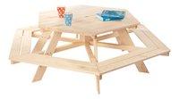 Table de pique-nique pour 6 enfants Nicki-Avant