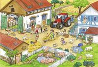 Ravensburger puzzle 2 en 1 Ferme comique-Détail de l'article