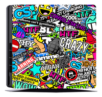 PS4 Slim console skin + 2 controllers skins Madness-Artikeldetail