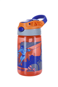 Contigo drinkfles Gizmo Flip Tangerine W/Superhero 420 ml-Rechterzijde