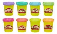 Play-Doh 8 pots arc-en-ciel flashy-commercieel beeld