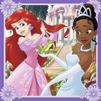 Ravensburger puzzel 3-in-1 Disney Princess-Vooraanzicht