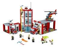 LEGO City 60110 Brandweerkazerne-Vooraanzicht