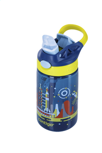 Contigo drinkfles Gizmo Flip Nautical W/Space 420 ml-Bovenaanzicht