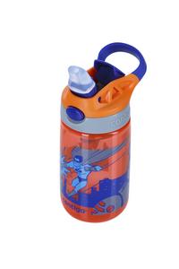 Contigo drinkfles Gizmo Flip Tangerine W/Superhero 420 ml-Bovenaanzicht