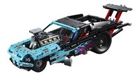 LEGO Technic 42050 Le véhicule dragster-Avant