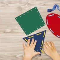 Montessori - Vormen en veters-Afbeelding 1