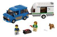LEGO City 60117 Busje & Caravan-Vooraanzicht