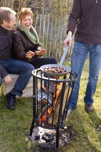 Barbecook vuurkorf met asplaat Modern Ronda-Afbeelding 1