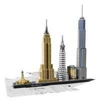 LEGO Architecture 21028 New York-Vooraanzicht