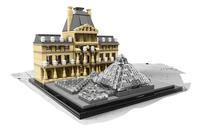 LEGO Architecture 21024 Louvre-Vooraanzicht