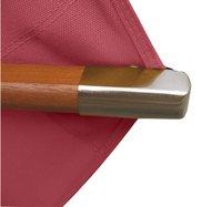 FSC-luxeparasol hout 3 x 3 m bordeaux-Artikeldetail