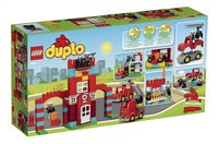 LEGO DUPLO 10593 La caserne des pompiers-Arrière