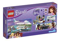 LEGO Friends 41100 Heartlake privéjet-Achteraanzicht