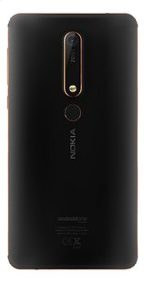 Nokia smartphone 6.1 noir-Arrière