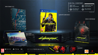 PS4 Cyberpunk 2077 Day One Edition ANG-Image 1