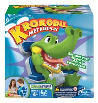 Krokodil met Kiespijn-Vooraanzicht