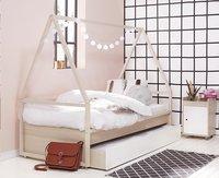 Chambre 3 éléments Bente avec bureau blanc-Image 3